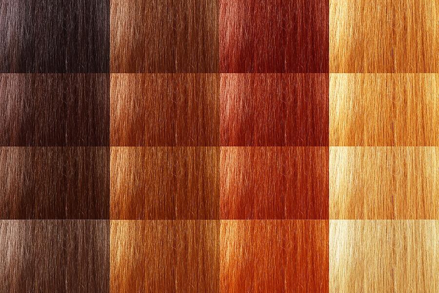 Luonnolliset hiusten värisävyt